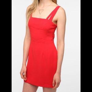 UO red dress